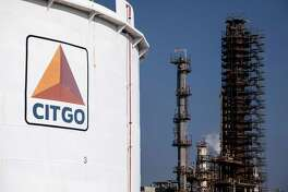 FILE - The Citgo refinery in Lake Charles, La., Sept. 18, 2018. Citgo, a subsidiary of Venezuela's national oil company, could be splintered into pieces if the South American country's national oil company fails to make a $913 million bond payment due Oct. 28, 2019. (Todd Spoth/The New York Times)