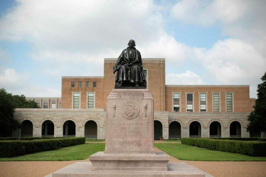 Rice University in Houston. Photo: Elizabeth Conley, Houston Chronicle / Staff Photographer / © 2018 Houston Chronicle