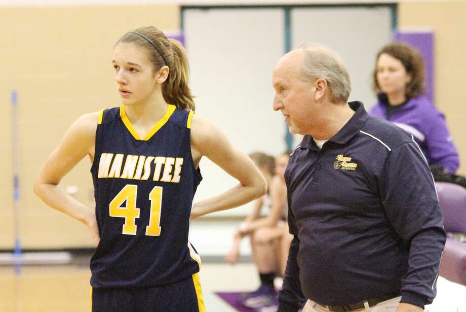 Manistee varsity girls basketball coach Kenn Kott is taking on an assistant role this season as he recovers from a stroke suffered during the summer. Photo: News Advocate File Photo