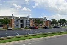 Google street view shows the Cedar Apartments in San Marcos at 1101 Leah Ave.