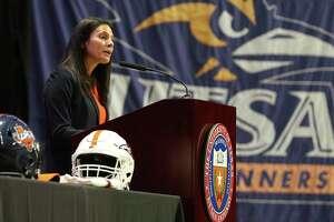 UTSA's Athletics Director Lisa Campos