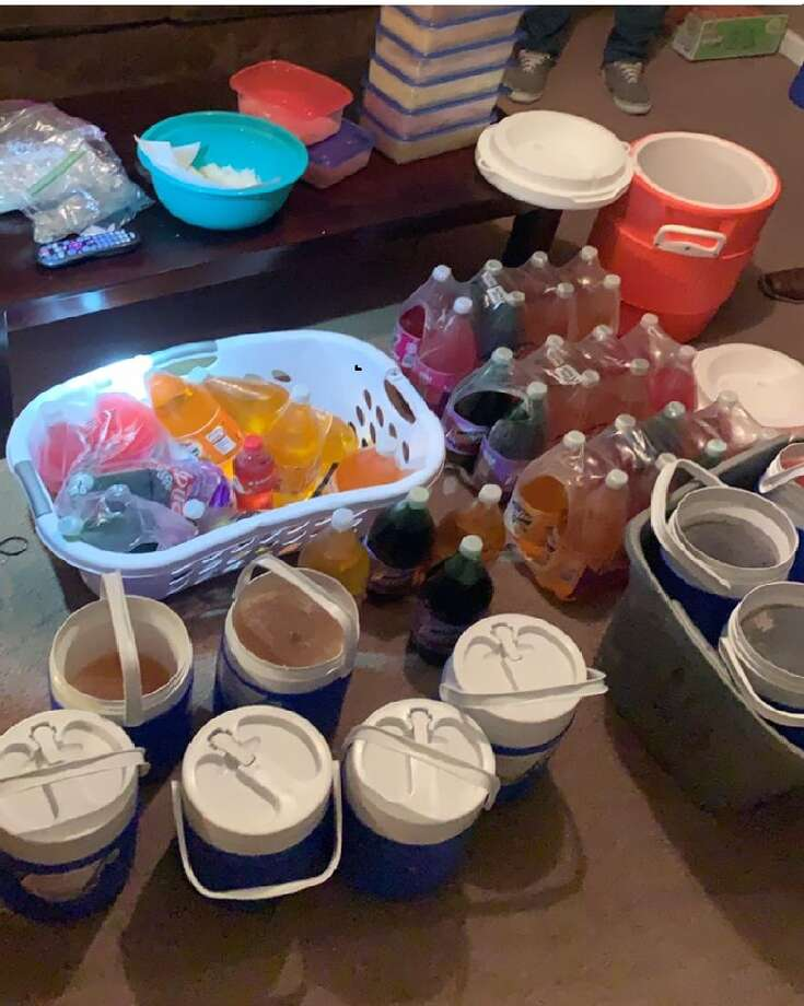 """Houston Police seized more than $15 million worth of crystal meth at a northwest Houston home last week that is believed to have been a """"storage house."""" Photo: Houston Police Department"""