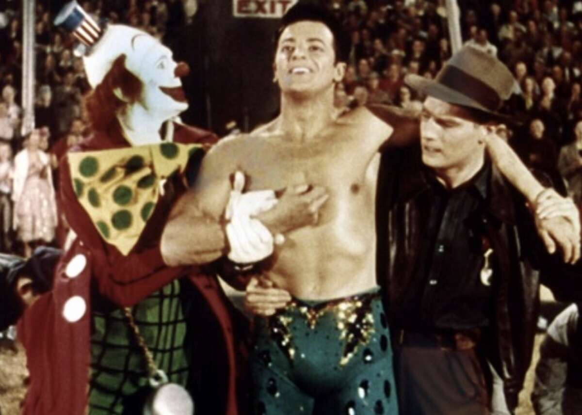 #77. The Greatest Show on Earth (1952) - Director: Cecil B. DeMille- IMDb user rating: 6.6- Votes: 11,904- Metascore: data not available- Runtime: 152 min Critics were underwhelmed by