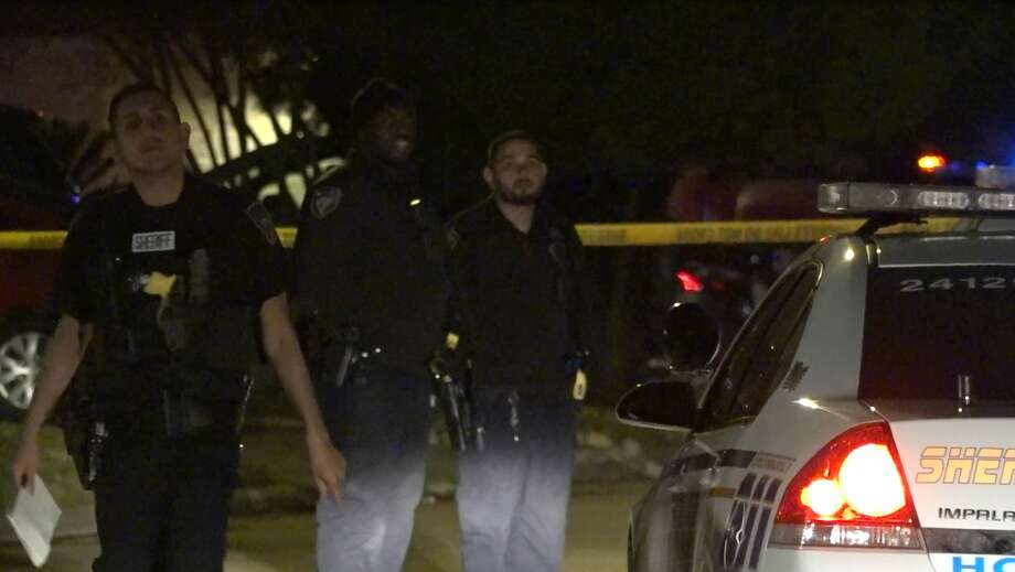 A man died late Tuesday after a possible domestic disturbance in the northwest Harris County. Photo: OnScene.TV