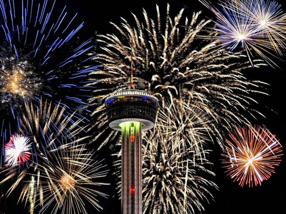 San Antonio is setting up a hotline for residents to report illegal fireworks on New Year's Eve. Photo: Courtesy Of The San Antonio River Walk Association
