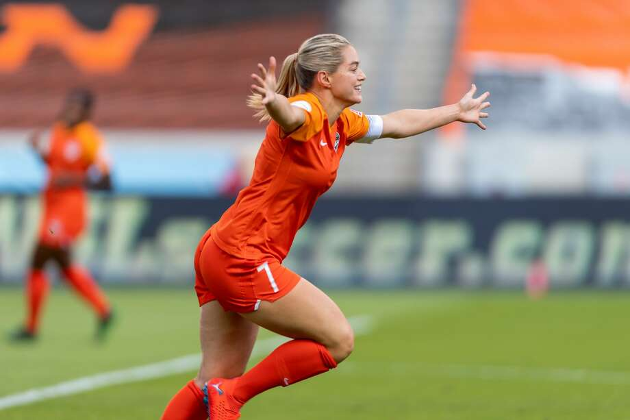 Houston Dash forward and team captain Kealia Ohai will kickoff the 2020 Houston Rodeo season by serving as the grand marshal for the downtown parade. Photo: Courtesy Houston Livestock Show And Rodeo