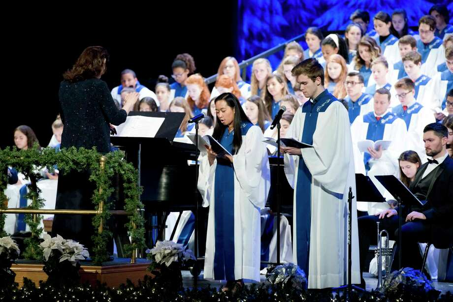 "The Bridgeport Diocesan Choir for Youth is celebrating its fifth-anniversary season with this year's ""Arise and Shine"" Christmas Concert Dec. 20 at Fairfield University's Quick Center for the Arts. Photo: Amy Mortensen / Contributed Photo"