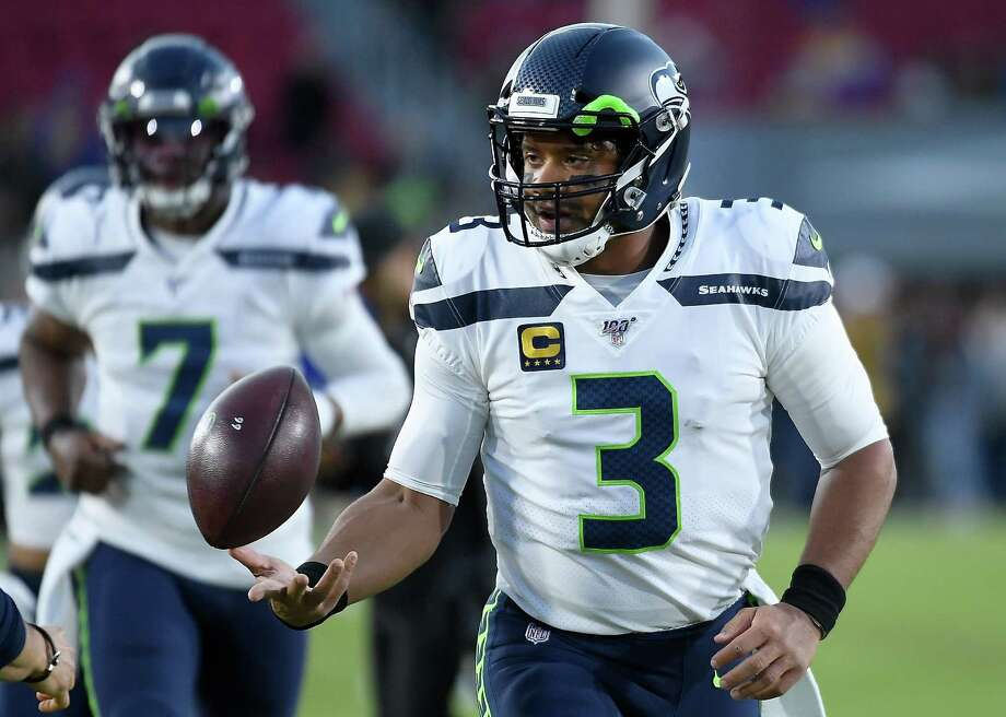 The Seahawks (10-3) have their last road game of the regular season Sunday against the Carolina Panthers (5-8). Photo: Kevork Djansezian // Getty Images