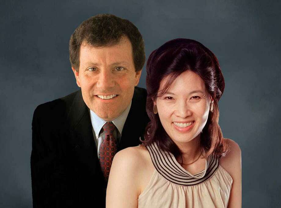 Greenwich-based nonprofit Family Centers will welcome New York Times columnists and Pulitzer Prize winners Nicholas Kristof and Sheryl WuDunn as the latest speakers in its popular Titans Series on Feb. 11. Photo: Www.familycenters.org