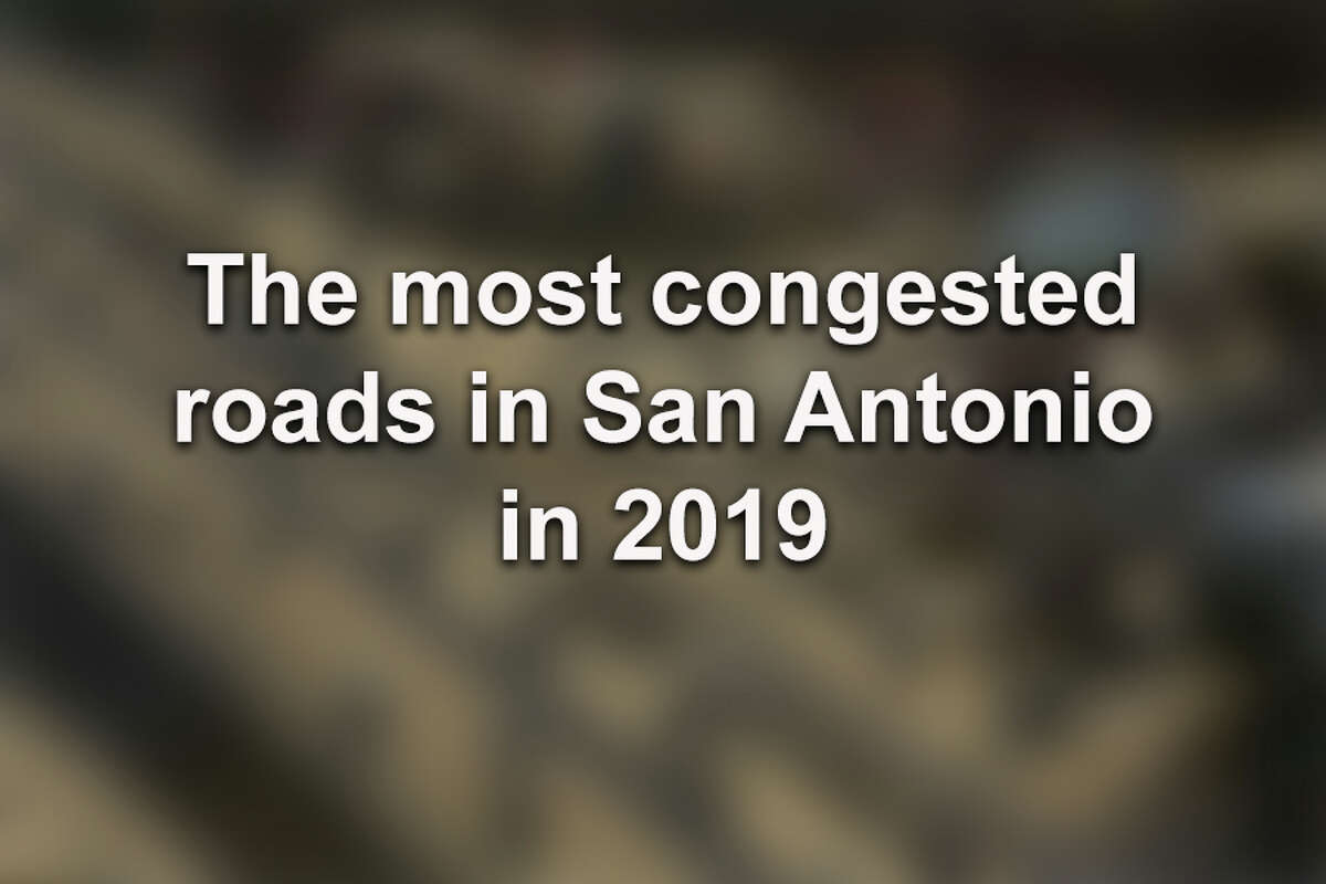 Click ahead to find the stretches of roads and highways where San Antonio drivers sat through the most traffic in 2019, according to Texas A&M Transportation Institute.
