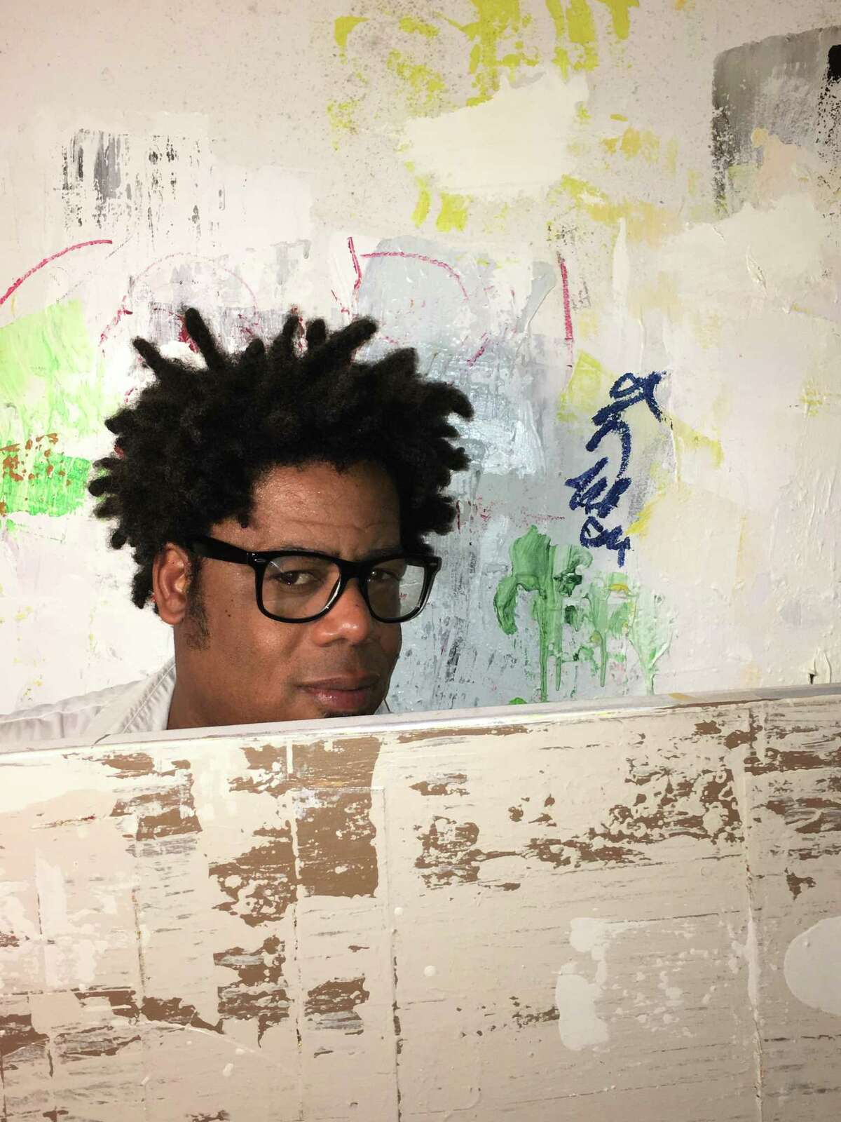 The artist David McGee, who is featured in two solo exhibitions this fall in Houston.