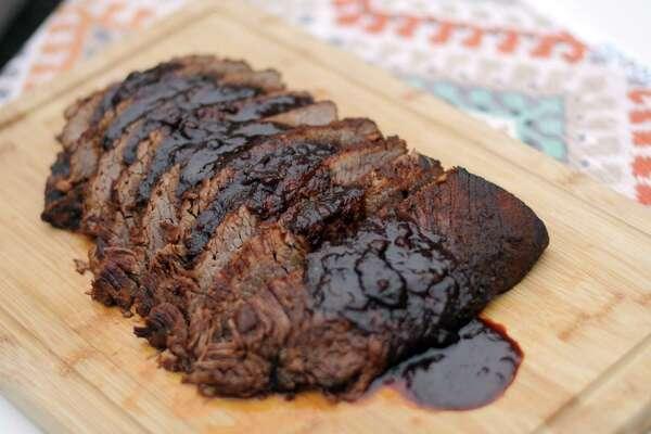 Instant Pot Hanukkah Barbecue Brisket