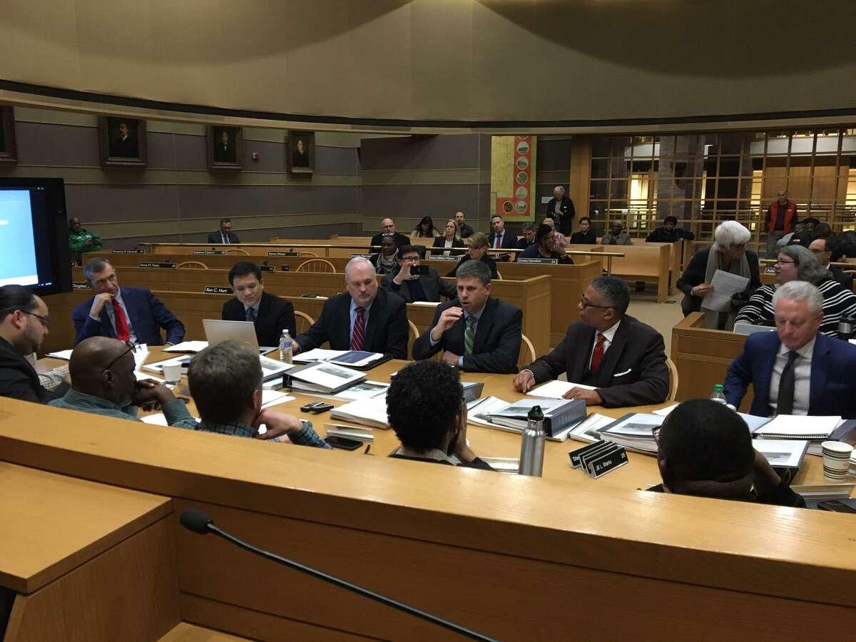 Yale New Haven Hospital executives testify