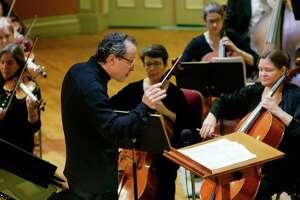 David Alan Miller, music director of the Albany Symphony. (Paul Buckowski / Times Union)