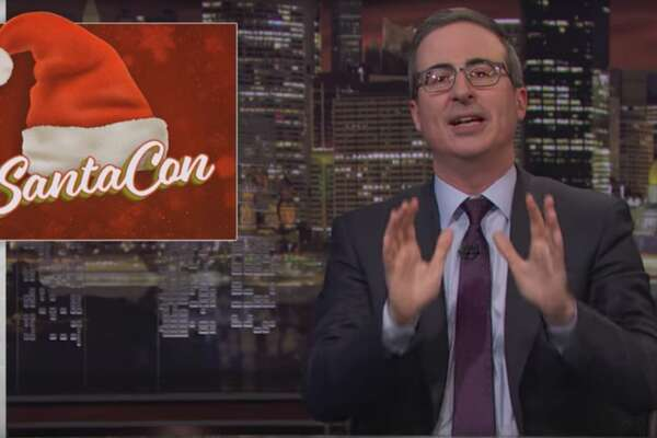 "John Oliver argues that this SantaCon should be the last on a web exclusive segment of ""Last Week Tonight."""