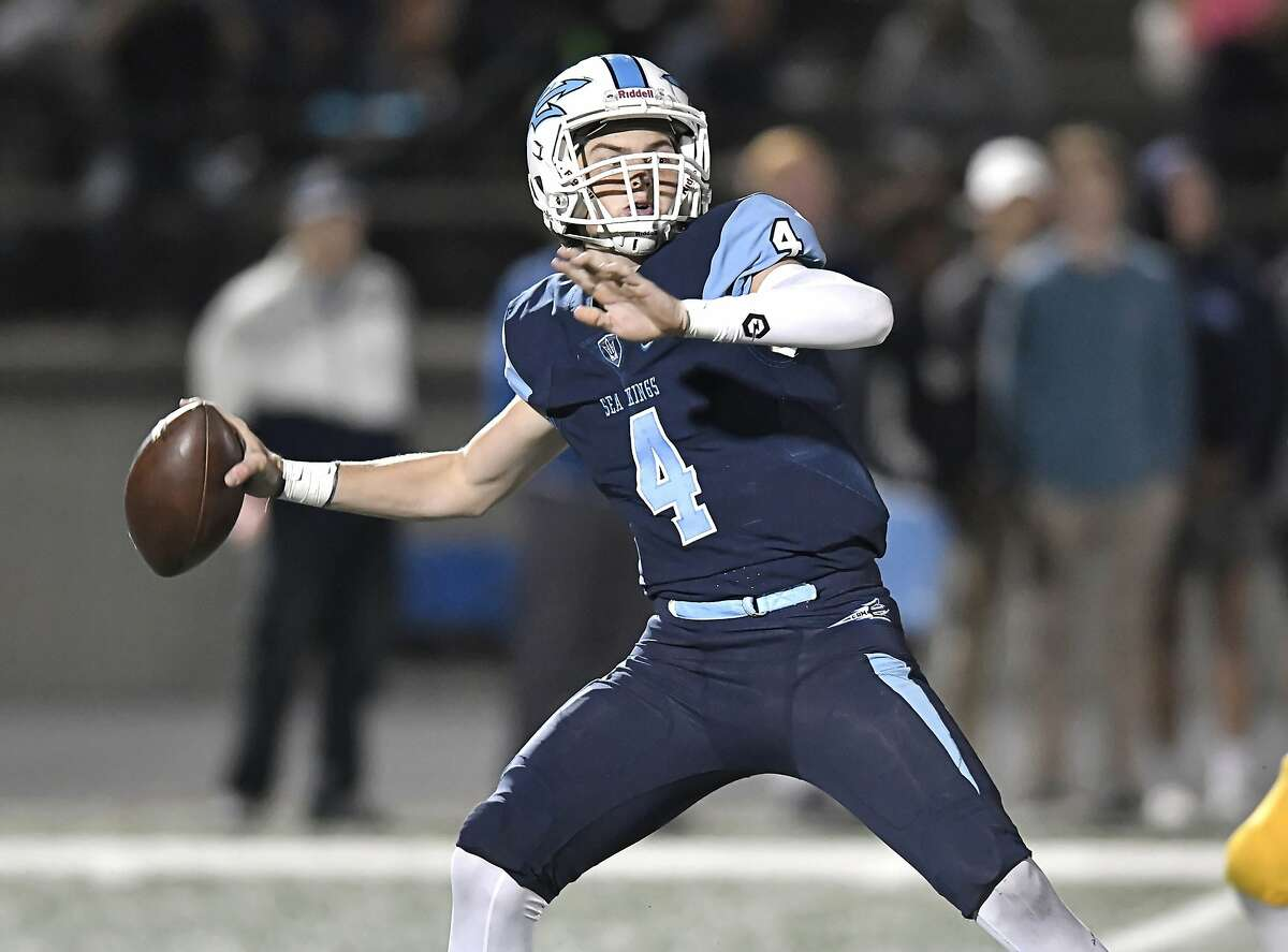 Ethan Garbers, a Washington-bound quarterback, has completed 313-of-449 passes for 4,479 yards and 67 touchdowns this season for Corona del Mar-Newport Beach.