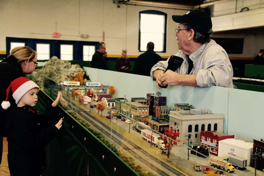 Train lovers of all ages can visit the annual model train show and non-perishable food drive will be held at the Torrington Armory at 153 South Main St. on Saturday and Sunday, De. 14-15. Photo: File Photo / Hearst Connecticut Media