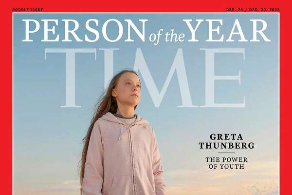 Swedish climate activist Greta Thunberg, 16, is the youngest person to be named Time's Person of the Year. MUST CREDIT: Time