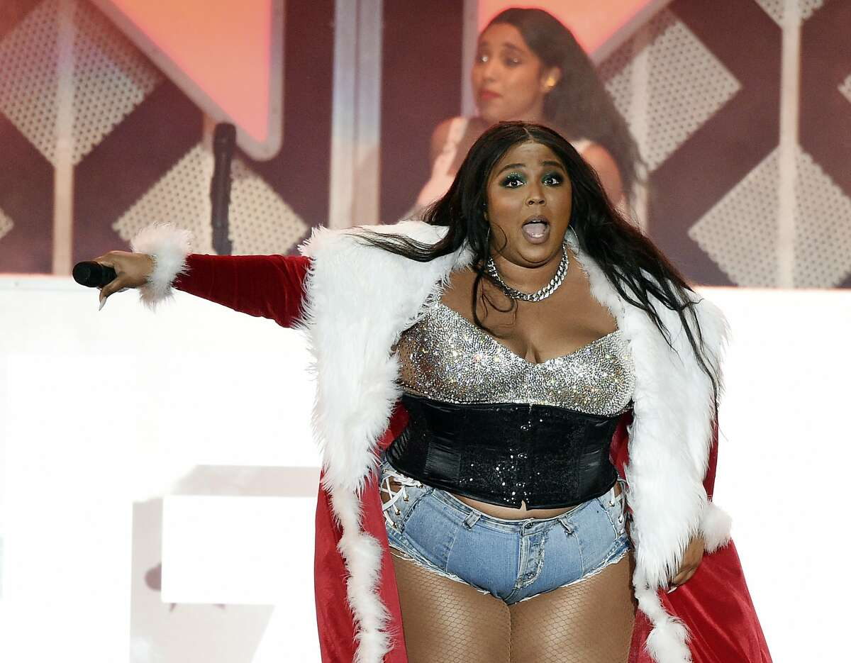 Lizzo performs during the 2019 KIIS-FM Jingle Ball concert at The Forum, Friday, Dec. 6, 2019, in Inglewood, Calif. The pop artist recently met with East Bay elementary students after they adorably covered one of her songs in a video that went viral with over 1.3 million views.