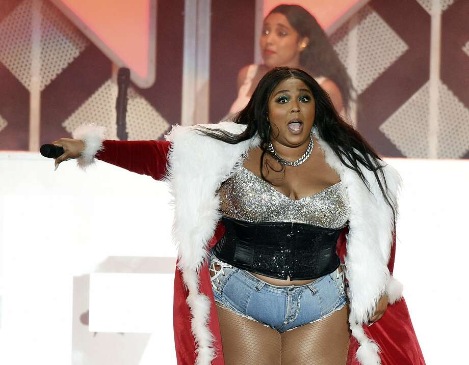 Lizzo performs during the 2019 KIIS-FM Jingle Ball concert at The Forum, Friday, Dec. 6, 2019, in Inglewood, Calif. The pop artist recently met with East Bay elementary students after they adorably covered one of her songs in a video that went viral with over 1.3 million views. Photo: Chris Pizzello, Associated Press