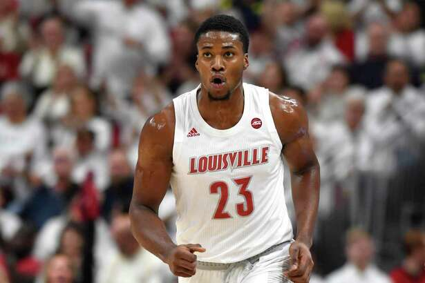 Norwalk product and former UConn big man Steven Enoch is the second-leading scorer for No. 1 Louisville.