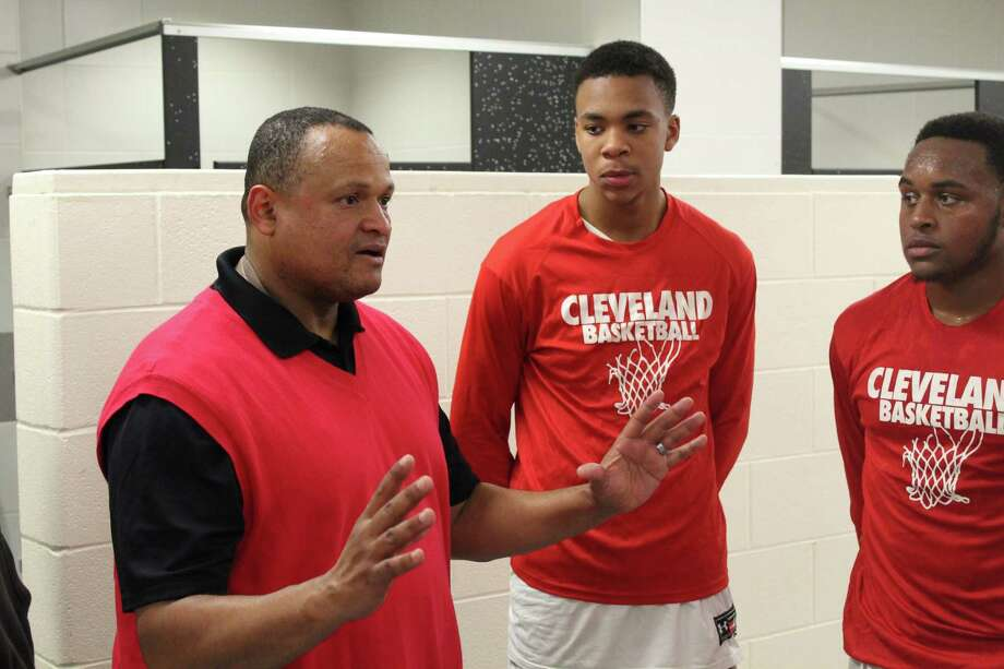Cleveland picked up a win over Liberty in a non-district game on Tuesday night. Photo: Marcus Gutierrez Staff Photo