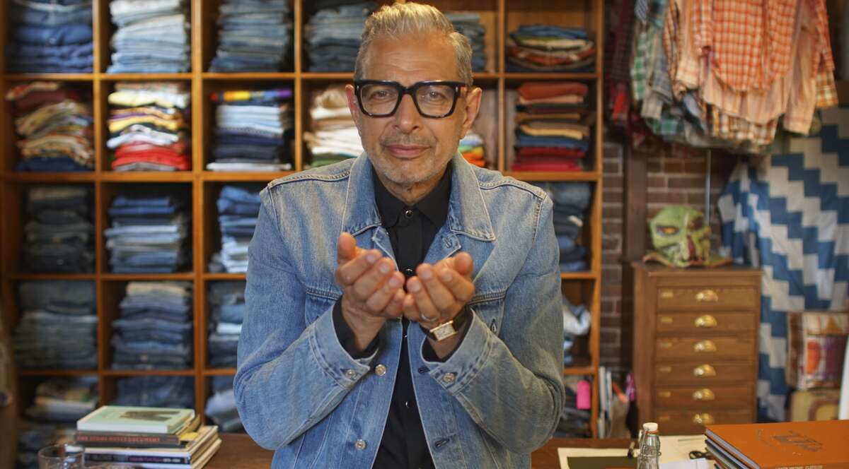Jeff Goldblum tours Levi Strauss & Co. in an episode of