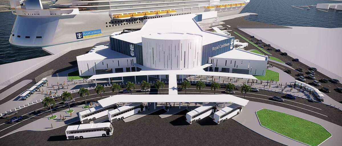 GalvestonGalveston's third cruise terminal for Royal Caribbean is expected to open in Nov. 2021. The $100 million terminal will be able to accommodate the cruise company's largest ships and will boast 150,000 square feet.