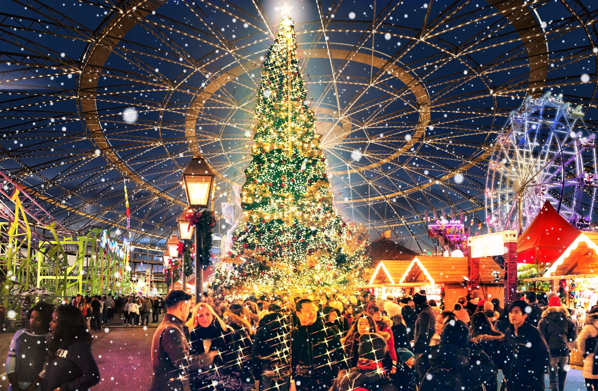 Christmas Festival Houston 2021 These Houston Holiday Markets Have Your Gift List Covered