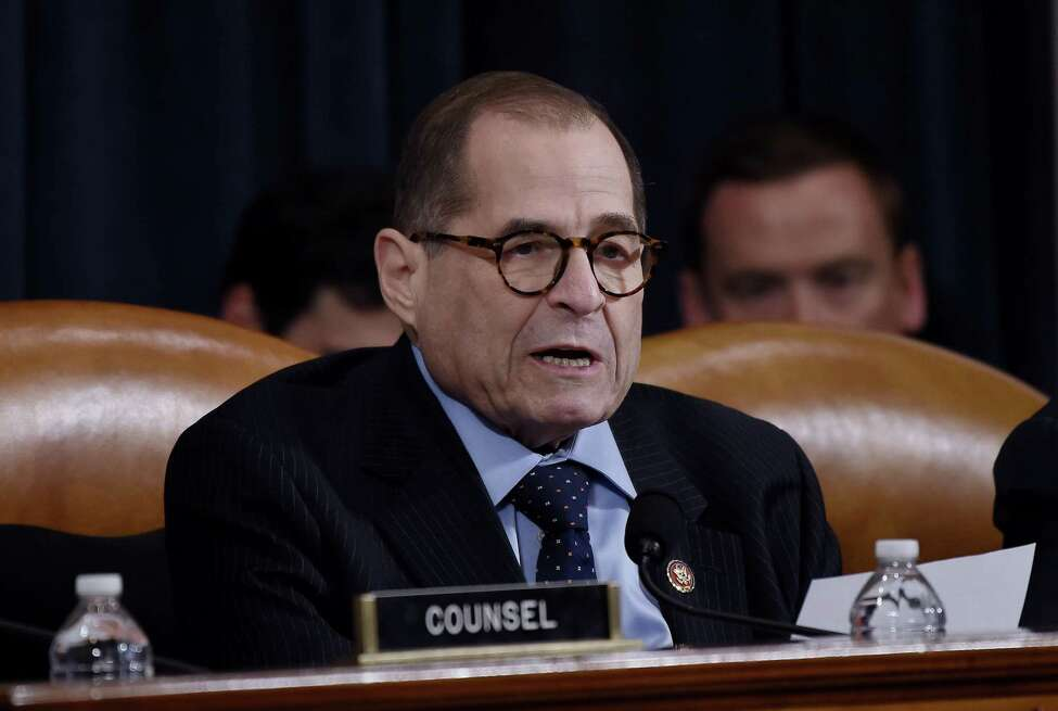 House Judiciary Committee Chairman Jerry Nadler (D-NY) speaks during the House Judiciary Committee's markup of House Resolution 755, Articles of Impeachment Against President Donald J. Trump on Capitol Hill in Washington, DC, on December 11, 2019. (Photo by Olivier Douliery / AFP) (Photo by OLIVIER DOULIERY/AFP via Getty Images)