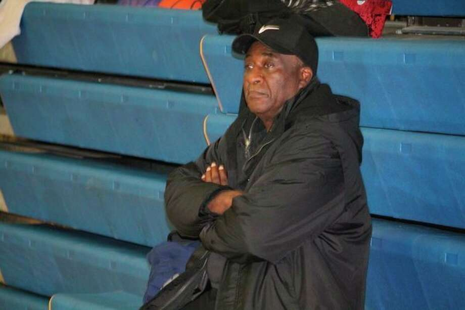 Middle school coach Abe Williams watches a practice during recent action. (Star file photo)