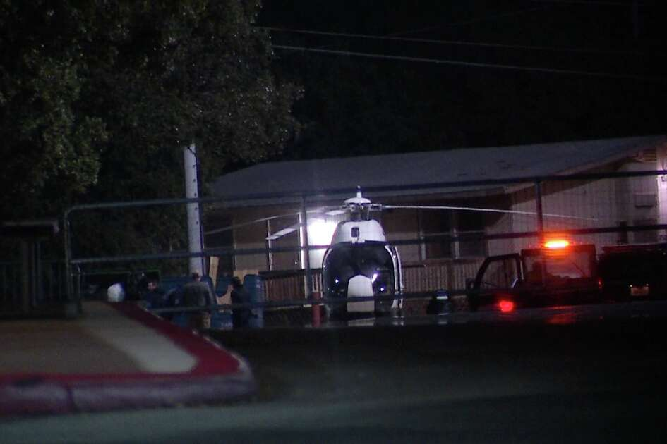 SAPD's EAGLE had to make an emergency landing Wednesday night.