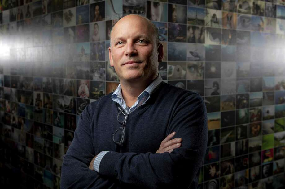 Craig Peters is the chief executive officer of Getty Images, an international photography agency based in Seattle. A big part of its business is stock images, and Getty's new pricing policy for them has drawn criticism. Photo: Bettina Hansen, MBR / TNS / Seattle Times