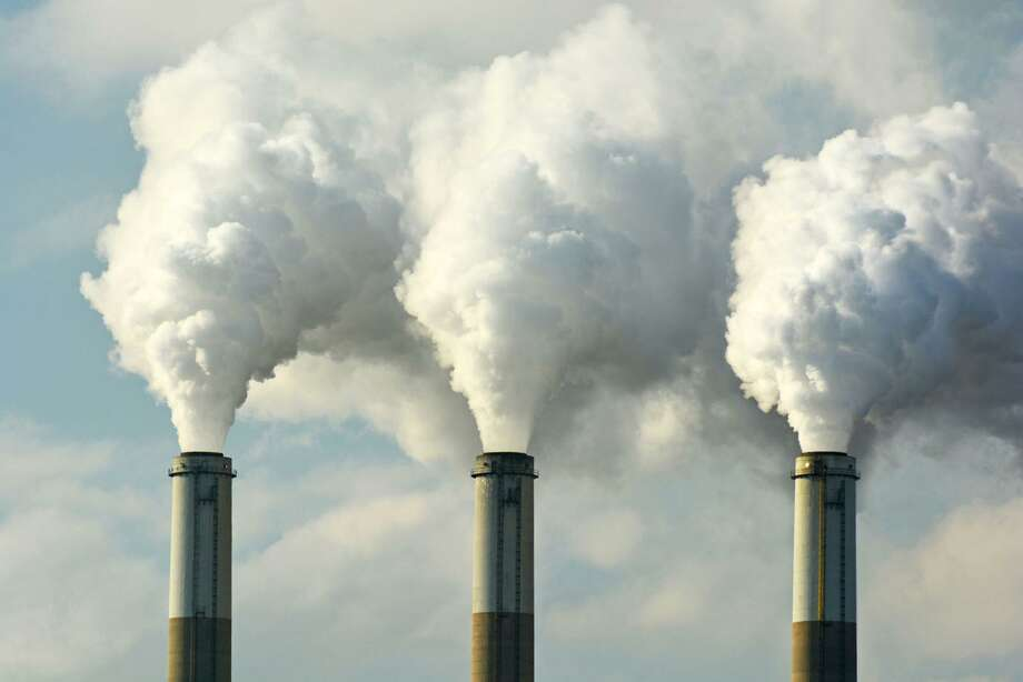 The amount of carbon dioxide released by burning fossil fuels is projected to hit a record 37 billion tons this year. A new report says the United States needs to increase spending significantly if it is too develop and deploy carbon capture technology at a sufficient scale to have an impact on global warming. Photo: Handout, HO / TNS / Dreamstime