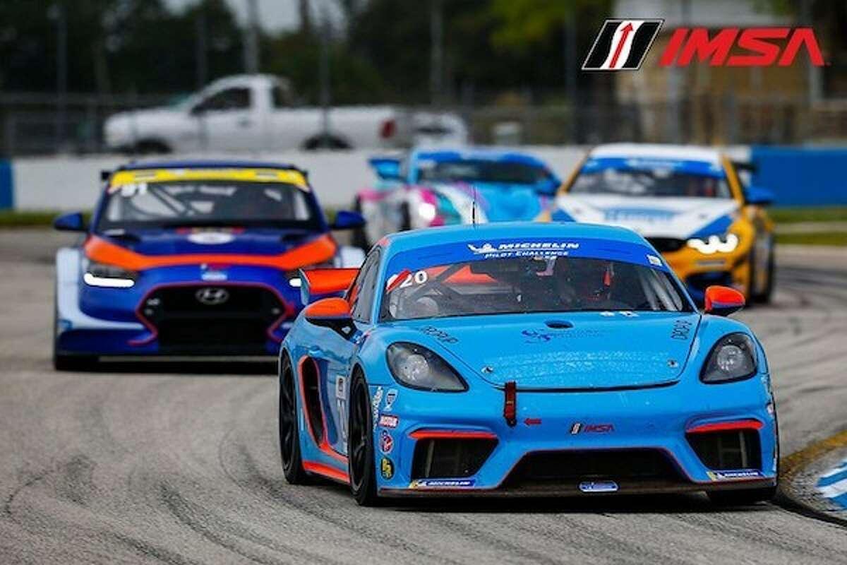 Jaden Conwright, 2020 IMSA Michelin Pilot Challenge Sebring Raceway Florida
