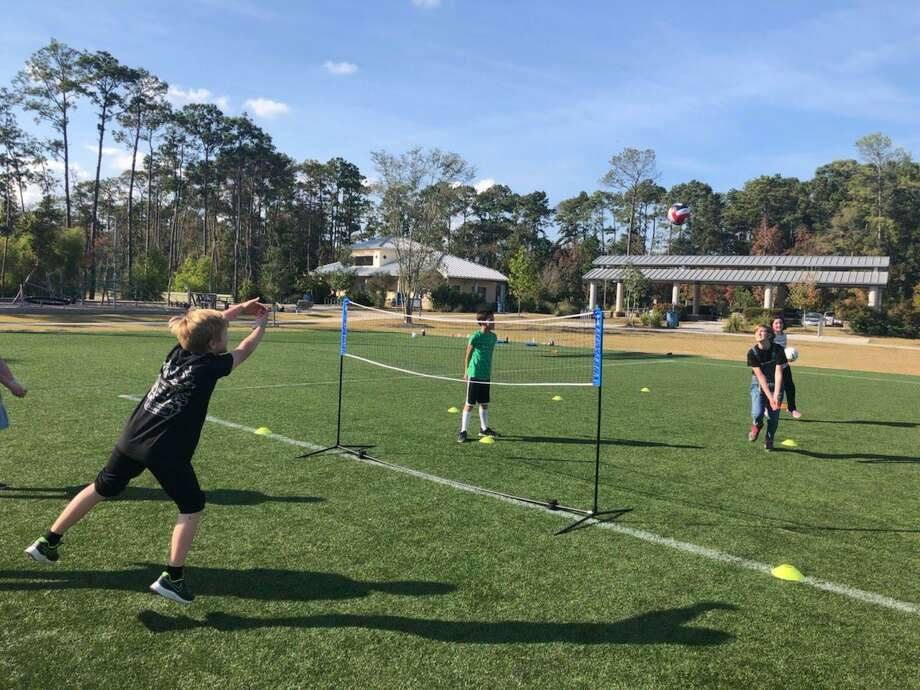 Each month brings a new sport to learn, and parents can choose to attend whichever sessions they want to. Volleyball, soccer, basketball, and tennis are just some of the sports that Homeschool Sports offers. Photo: Provided
