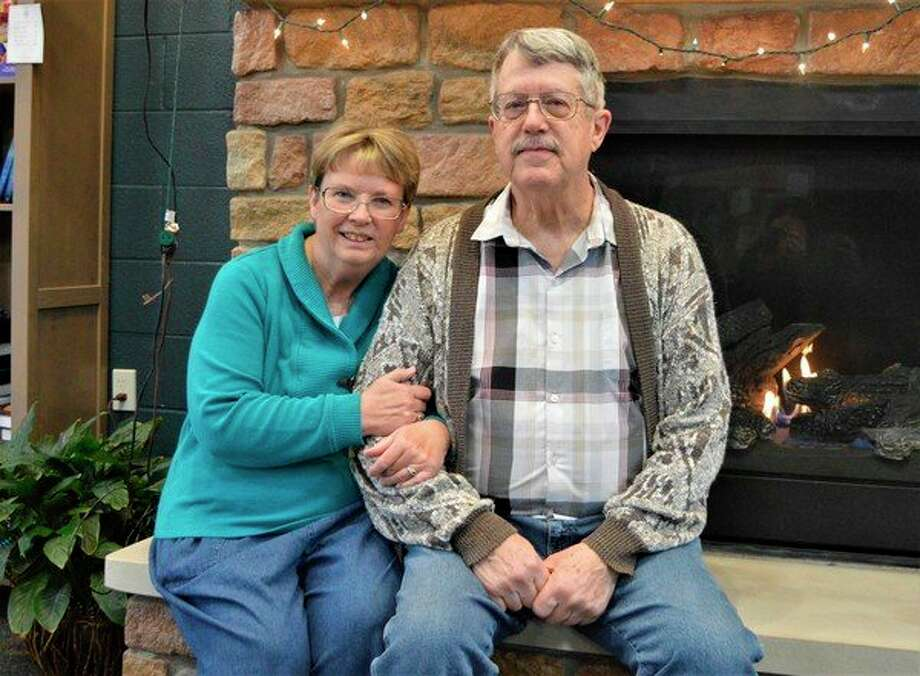 Connie and Carl Glave were recognized by their volunteerism in the community, winning $6,000 for home improvements from Art Van furniture. (Ashley Schafer/Ashley.Schafer@hearstnp.com)