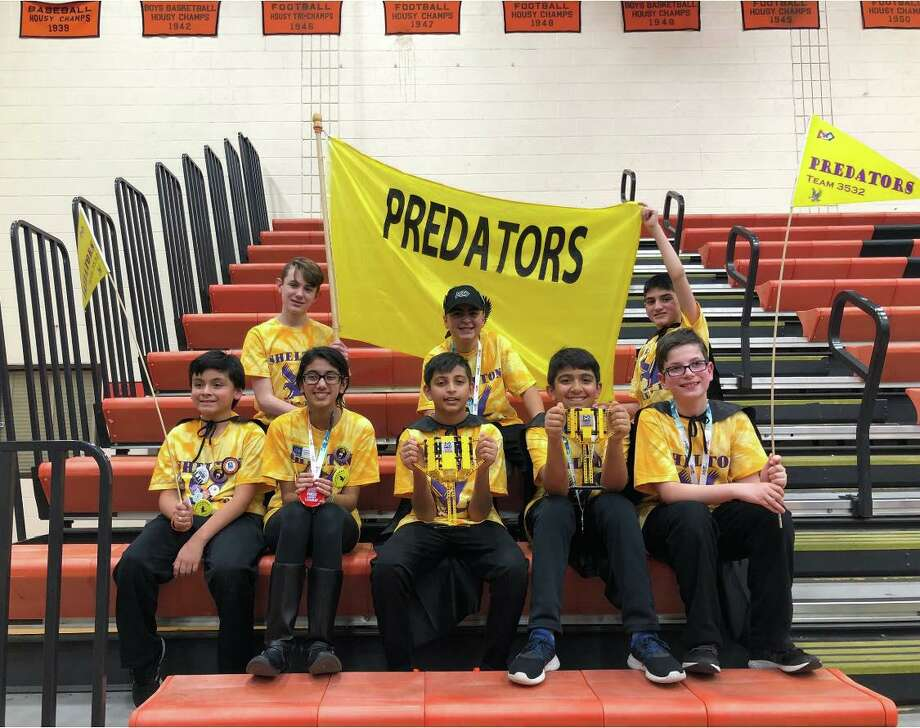 The Predators captured the First Lego League (FLL) robotics state championship Saturday, Dec. 7, earning a trip to the World Championships in Detroit. Photo: Contributed Photo / Connecticut Post