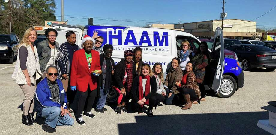 Humble Area Assistance Ministries received its new van on Dec. 11 that will help with servicing the community. Photo: Courtesy / Courtesy