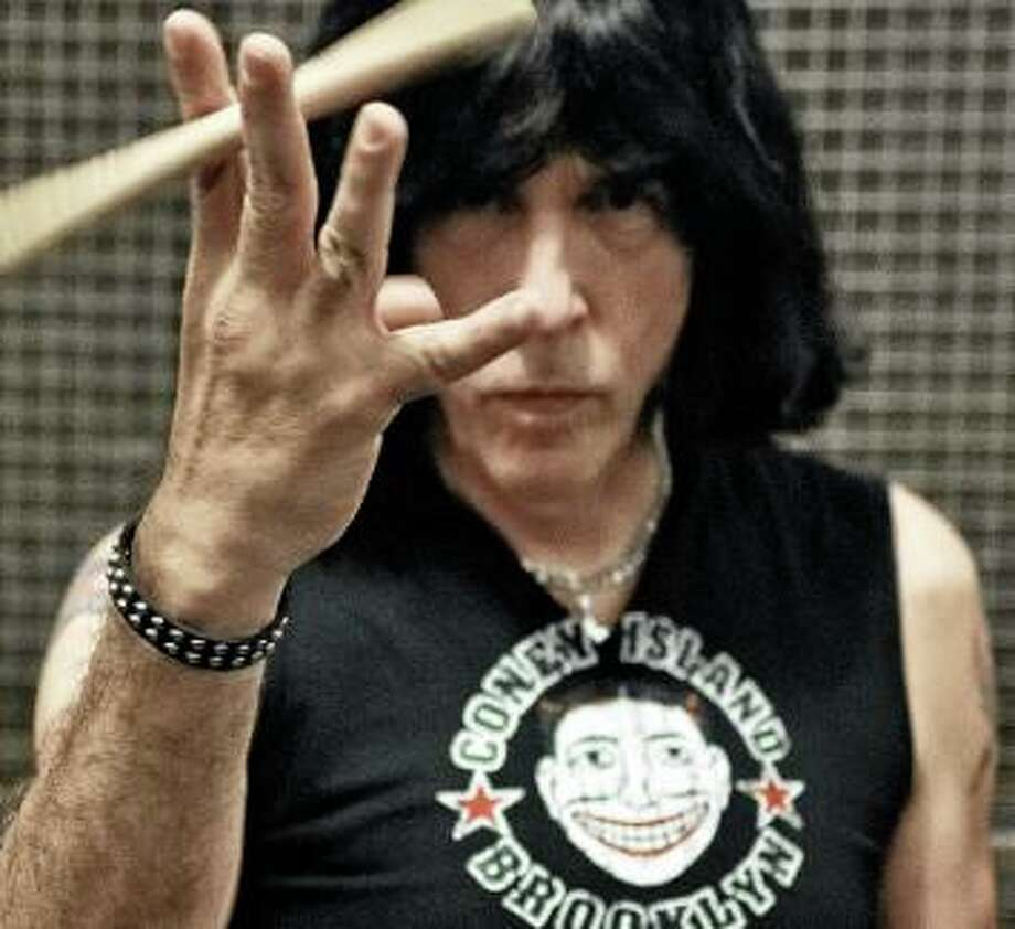 Marky Ramone, who spent 15 years drumming with the Ramones, is bringing his Blitzkrieg show to The Warehouse at Fairfield Theatre Company Dec. 21. Photo: Fairfield Theatre Company