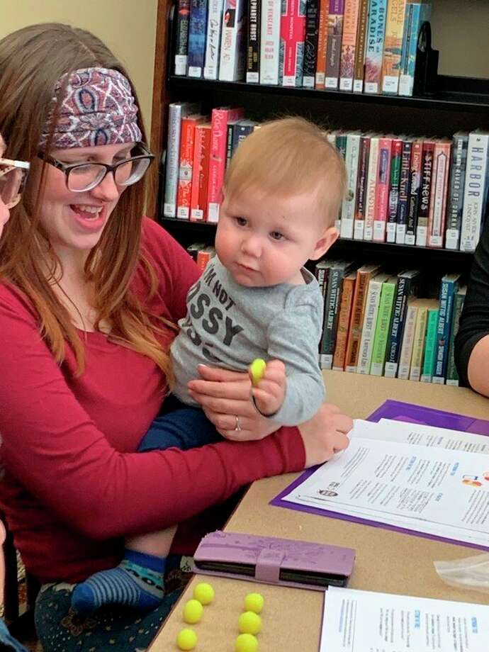 During the pilot meeting, parents were introduced to new practices to teach their children at home. (Courtesy photo)