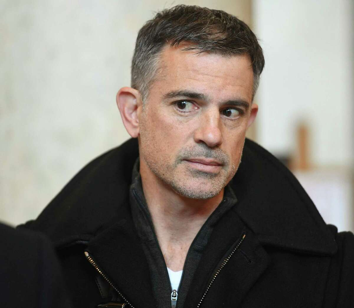 File photo of Fotis Dulos as he left the Connecticut State Supreme Court in Hartford, Conn., on Thursday, Dec. 12, 2019.