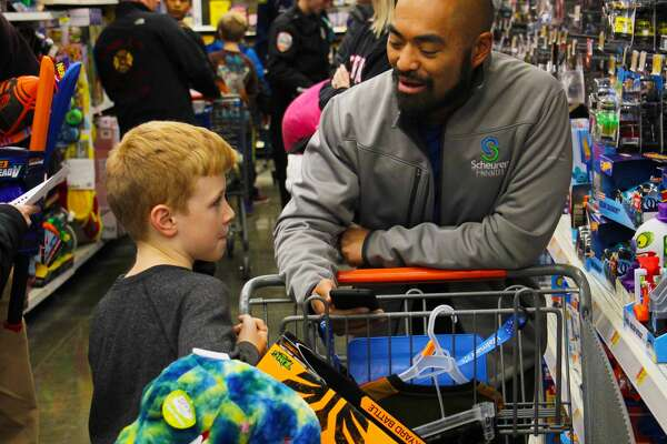 Shop With a Cop is a success at Bad Axe Walmart on Wednesday, 11.