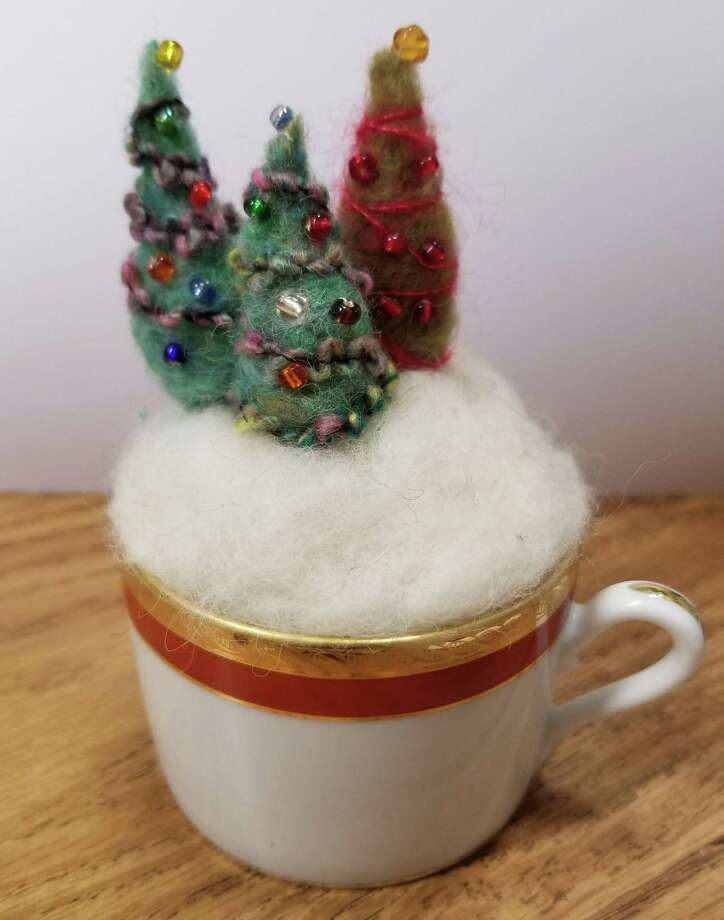 Needle felting is a craft that has become very popular. Photo: Ginger Balch / Contributed Photo