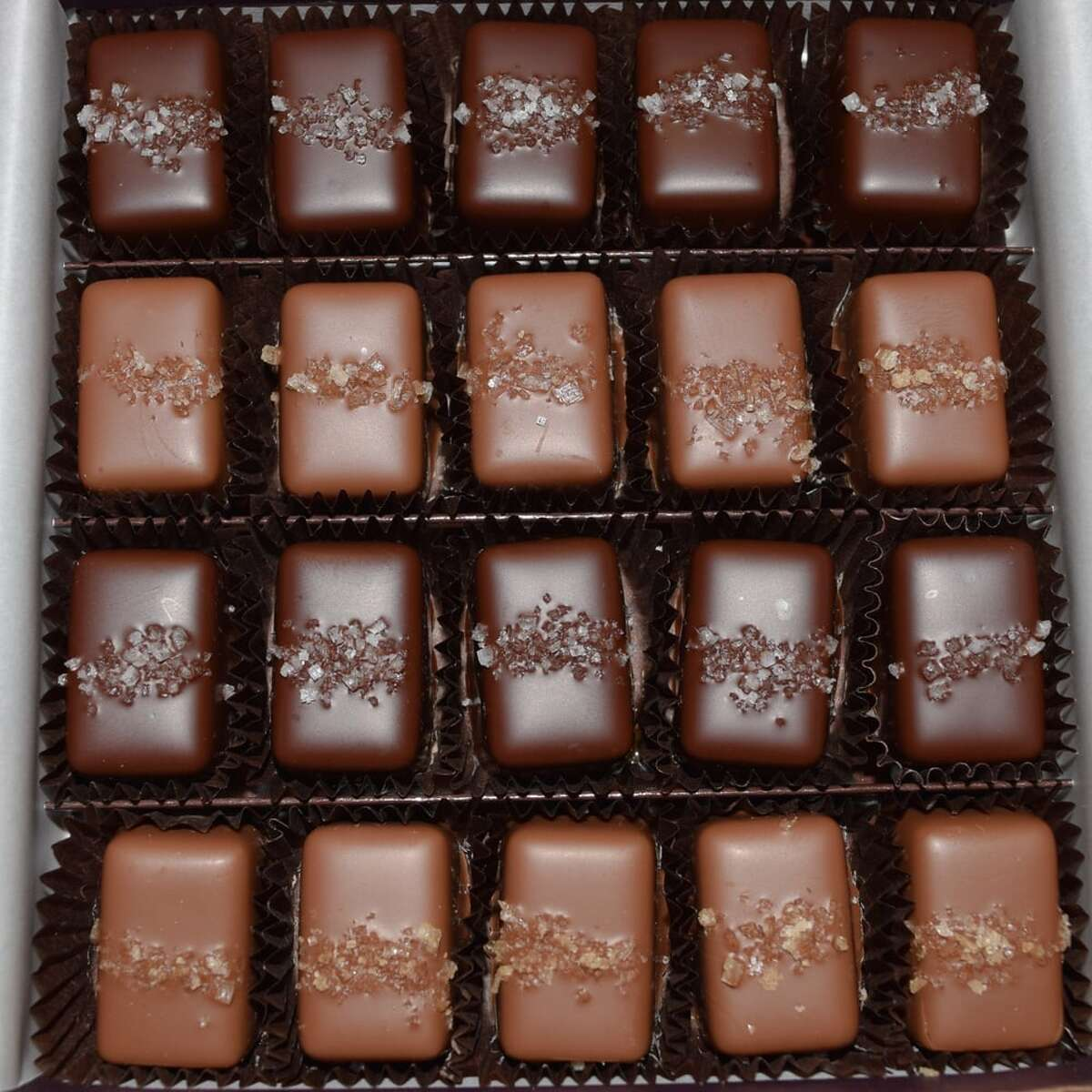 Frans Gray and Smoked Salt Caramels