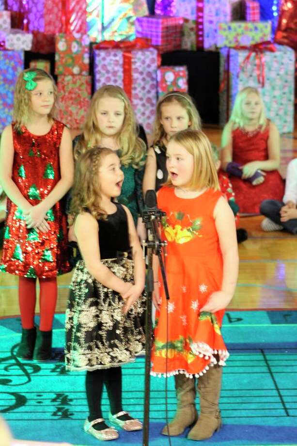 Students of all ages performed at the Manistee Catholic Central holiday concert. (Courtesy photo)