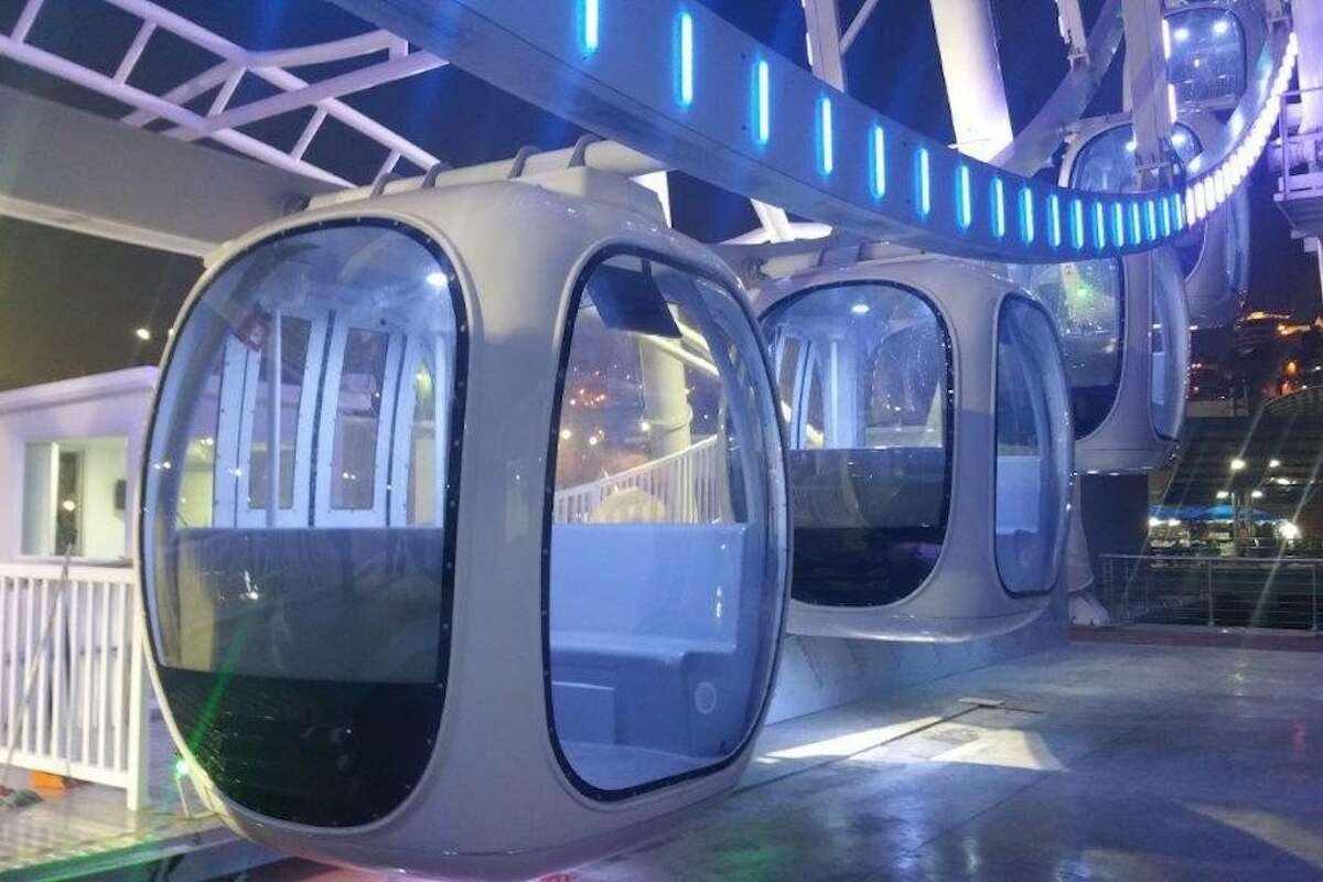 The wheel will include 36 fully enclosed, climate-controlled gondolas that each seat six passengers.