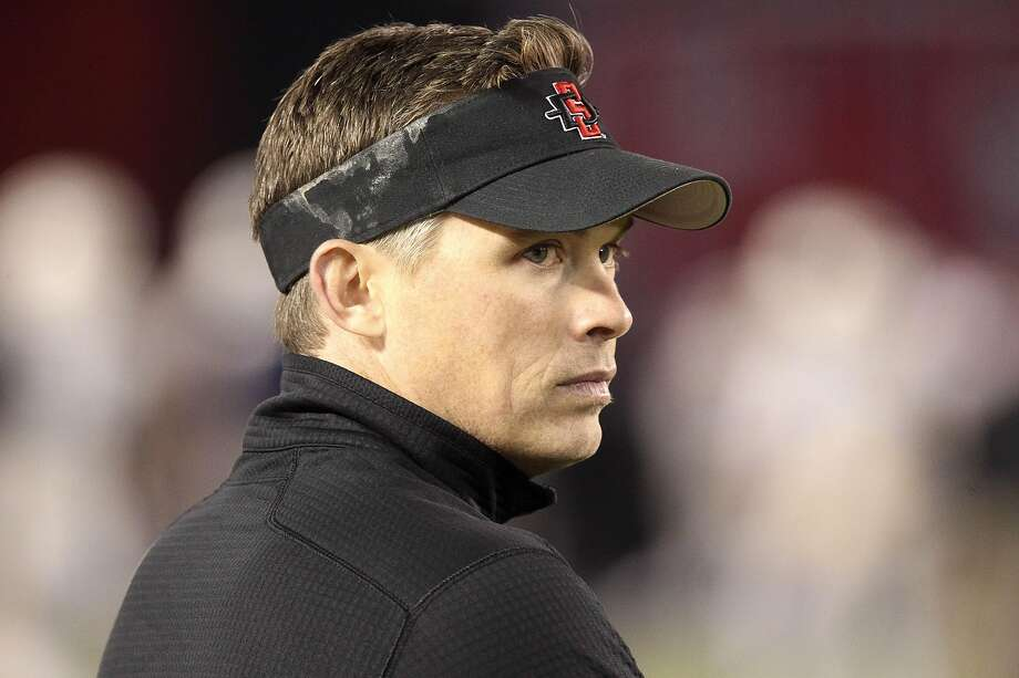 Lamar University named Blane Morgan, the San Diego State quarterbacks coach shown here in a 2015 photo, as the Cardinals' new head football coach. Photo: Hayne Palmour IV, San Diego Union-Tribune