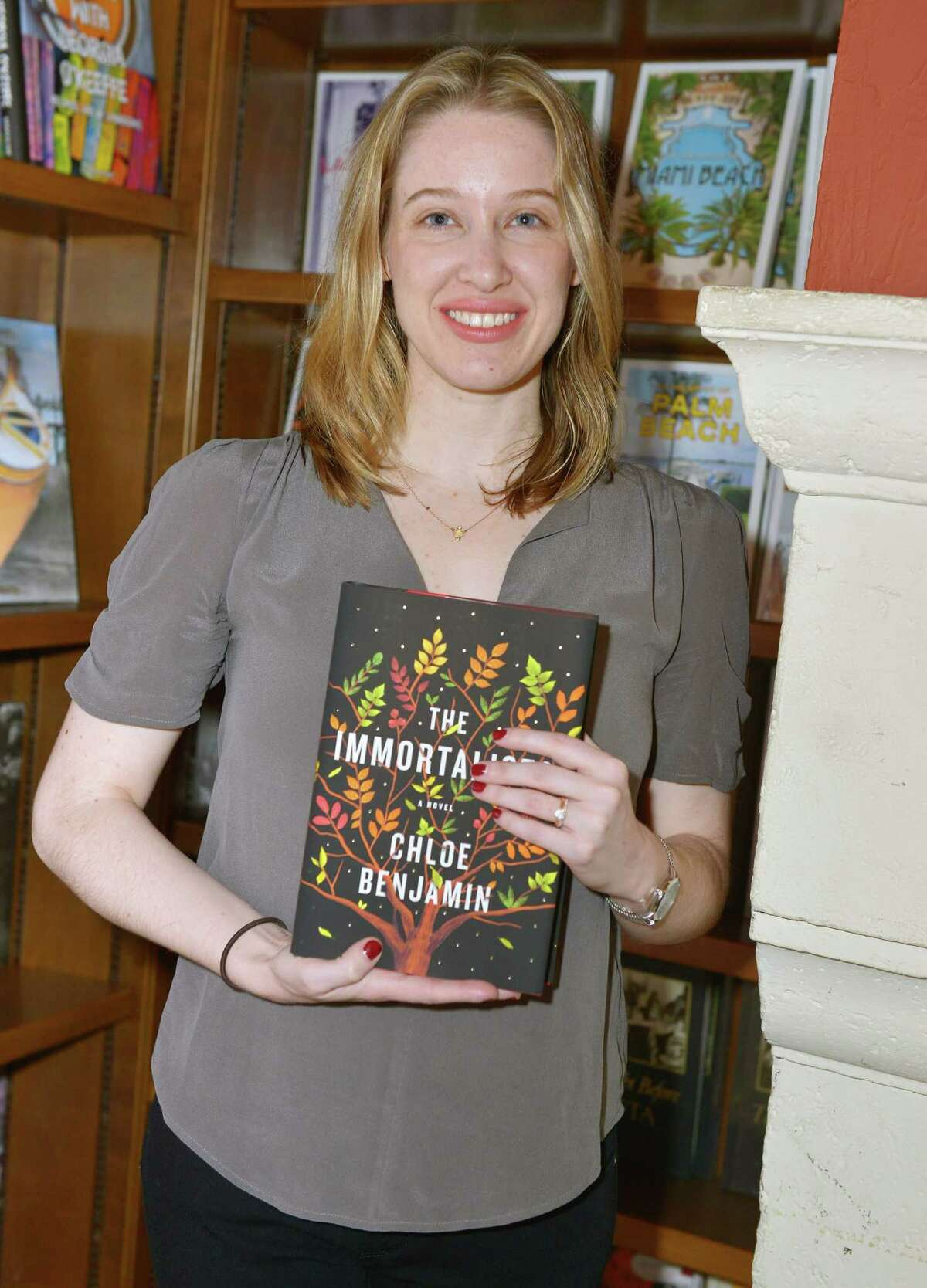 CORAL GABLES, FL - MARCH 13: Author Chloe Benjamin attends a reading and book signing for her new book