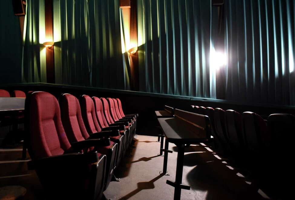 A look inside one of the movie theaters at Madison Theatre which is undergoing restoration on Thursday, Dec. 12, 2019, on Madison Avenue in Albany, N.Y. (Will Waldron/Times Union)